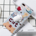 3D Pattern Design Silicone Toy Squishy  case for iphone 7
