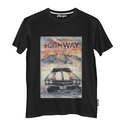 Super Combed Cotton Casual Wear Graphic Printed Round Neck T Shirt