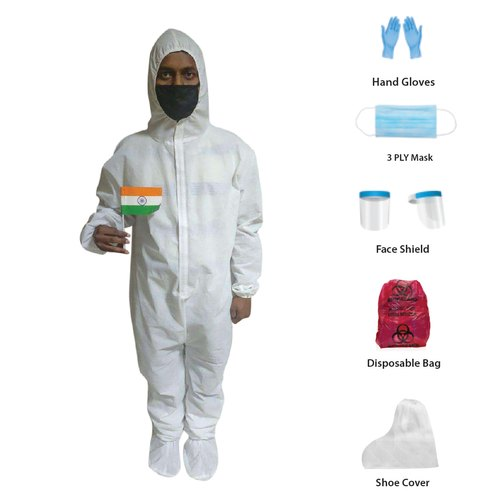 Personal Protective Equipment - PPE Kit (Without Blue Tape)