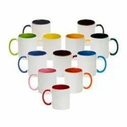 Ceramic Sublimation Mug 3 Ton for Home, Size: 11 Oz