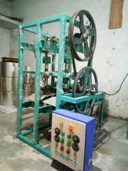 Automatic Double Die Chilla Plate Making Machine