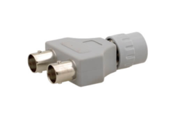 BNC (M) To 2 BNC (F) Adapter, VA-122