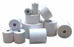 Black Plain POS Thermal Paper Roll