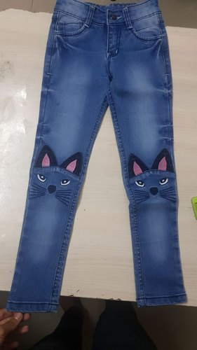 4715a9a0 Female 20-40 Kids Denim Jeans For Girls Kids, Rs 380 /no | ID ...