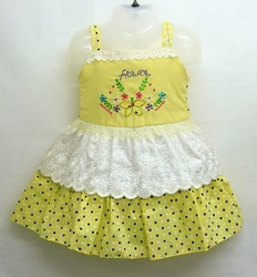 Girls Beautiful Cotton Frocks