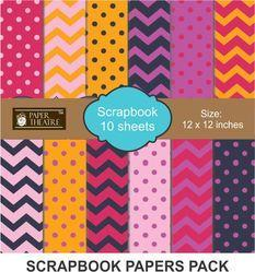 Scrapbook  Papers Pack