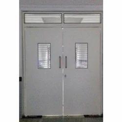 Metal Single Door Safety Mild Steel Door, for Residential