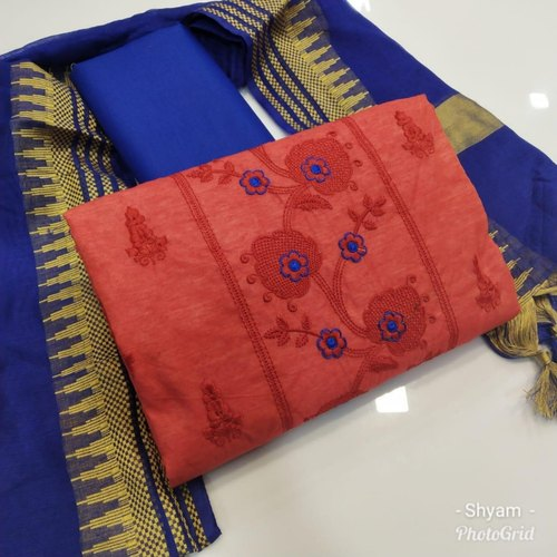 73525c73d6 Female Fancy Chanderi Dress Material, Rs 695 /piece, Vastrangam | ID ...