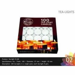 Tea Light 9-100 Candles
