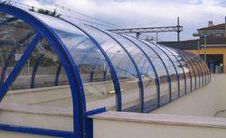 Polycarbonate Clear Sheet, Thickness: 1.5 to 12 mm