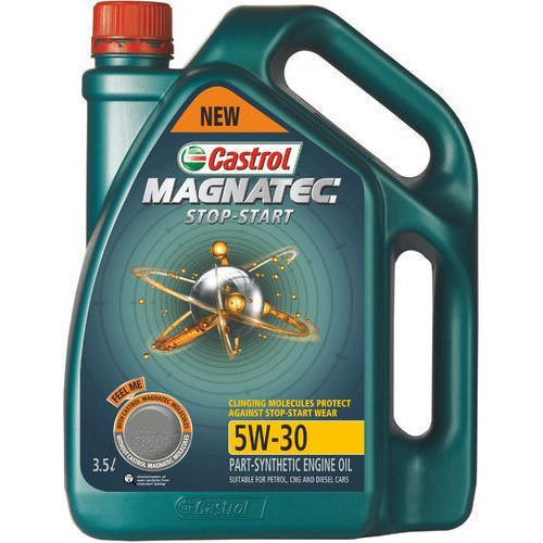 castrol magnatec 5w30  Grade: 5W-30 Castrol Magnatec Stop Start Oil, Rs 270 /litre | ID ...