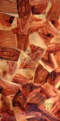 Dark Brown Stone Series Veneer Sheet