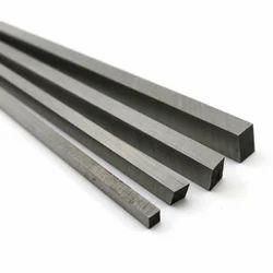 Mild Steel Black Square Bar for Manufacturing, Length: 6 & 18 meter
