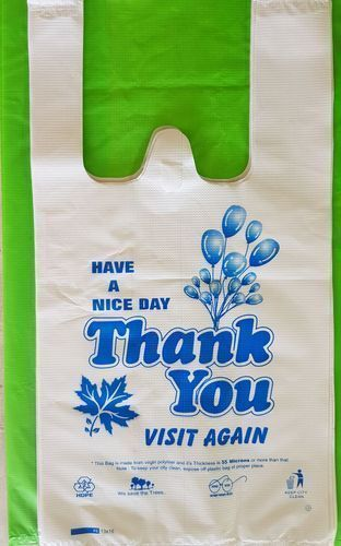 Printed Thankyou Carry Bags