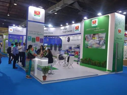 Modular Exhibition Stands Zone : Trade show booth designing बूथ डिजाइनिंग सेवा in