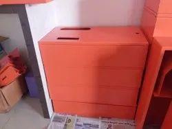 Horizontal Sanitary Napkin Vending Machine Cabinets