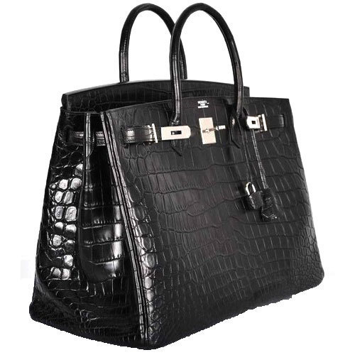 Black Plain Ladies Hand Bag 29f0a0c7620c1