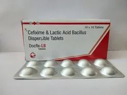 Docfix-LB Allopathic Cefixime & Lactic Acid Bacillus Dispersible Tablets
