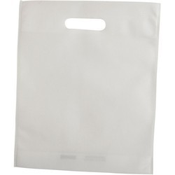 White Non Woven Shopping Bag