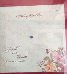 Stylist Wedding Card