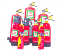 Fire Finish Mild Steel Metal Fire Extinguisher, Capacity: 4.5Kg, for Industrial