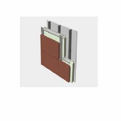 Front Glass,Wooden Terracotta Wall Cladding, For Doors