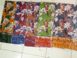 Cotton Digital Printed Sarees, 6.3 M (with Blouse Piece)