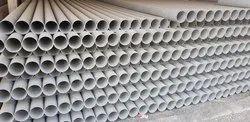 Grey Rigid PVC Pipes of 160 mm