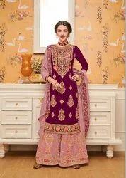 5 A-Line Eba Hurma Vol-25 Pure Georgette Heavy Designer Bridal Suit