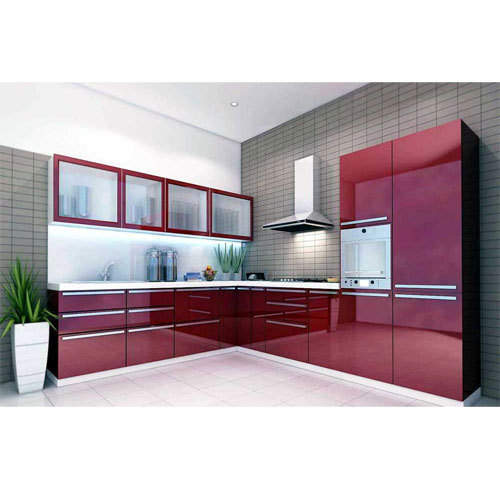 Kutchina Modular Kitchen Price At Rs 75000 Number: Residential Modular Kitchen, Contemporary Kitchen Designer