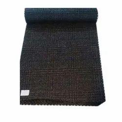 Black Tweed Fabric, GSM: 100-150