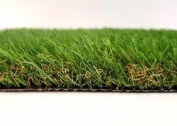 PE Straight 25mm Landscape Artificial Grass, Unit Size: 2mtr X 25mtr