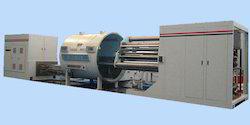 Induction Heating Crucible Type Vacuum Metallising Machine, Capacity: 300 ton per month