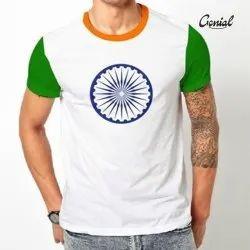 Genial Micro Drifit Republic day T-shirt, Age Group: 18-99