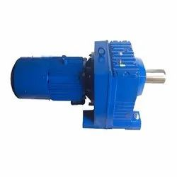 PBL Helical & vertical Motor Gearbox, For Industrial & conveyors, Packaging Type: Wooden Box