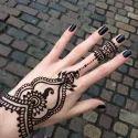 Black Heena Tattoos, Packaging Type: Packet