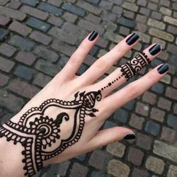 Black Heena Tattoos