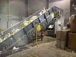 Wastage Recycling Slat Conveyor