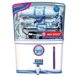 Wall-Mounted ABS Plastic Aqua Grande Plus RO Water Purifier, Capacity: 7.1 L to 14 L