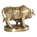 Brass Paoti Cow With Child