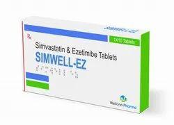 Ezetimibe And Simvastatin Tablets