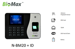 Bio-Max Password Protected Biometric Attendance System, Model Name/Number: Biomax N-bm20
