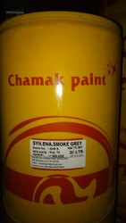 Synthetic Enamel Smoke Grey Paint