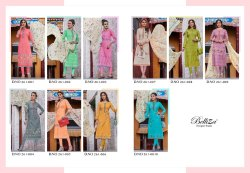 Belliza Designer Studio Ruaab Pure Cotton Salwar Kameez Collection