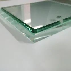 Transparent Plain Glass For Partition