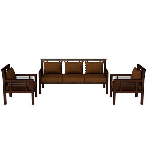 Wooden Sofa Set Designer Wooden Sofa Set Manufacturer From Pune
