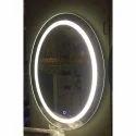 LED Sensor Oval Mirror Light