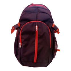 Nylon Male Collage Backpack