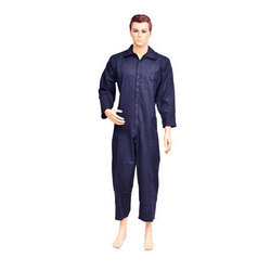 Work Wear Polyester Dangri Blue Suits