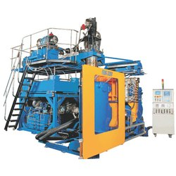 Automatic Plastic Extrusion Blow Moulding Machine 30Ltr, Model Name/Number: FBM-30SV